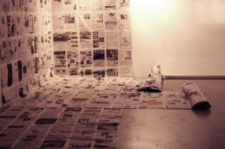 Installation in Fine Arts Faculty of Cuenca
