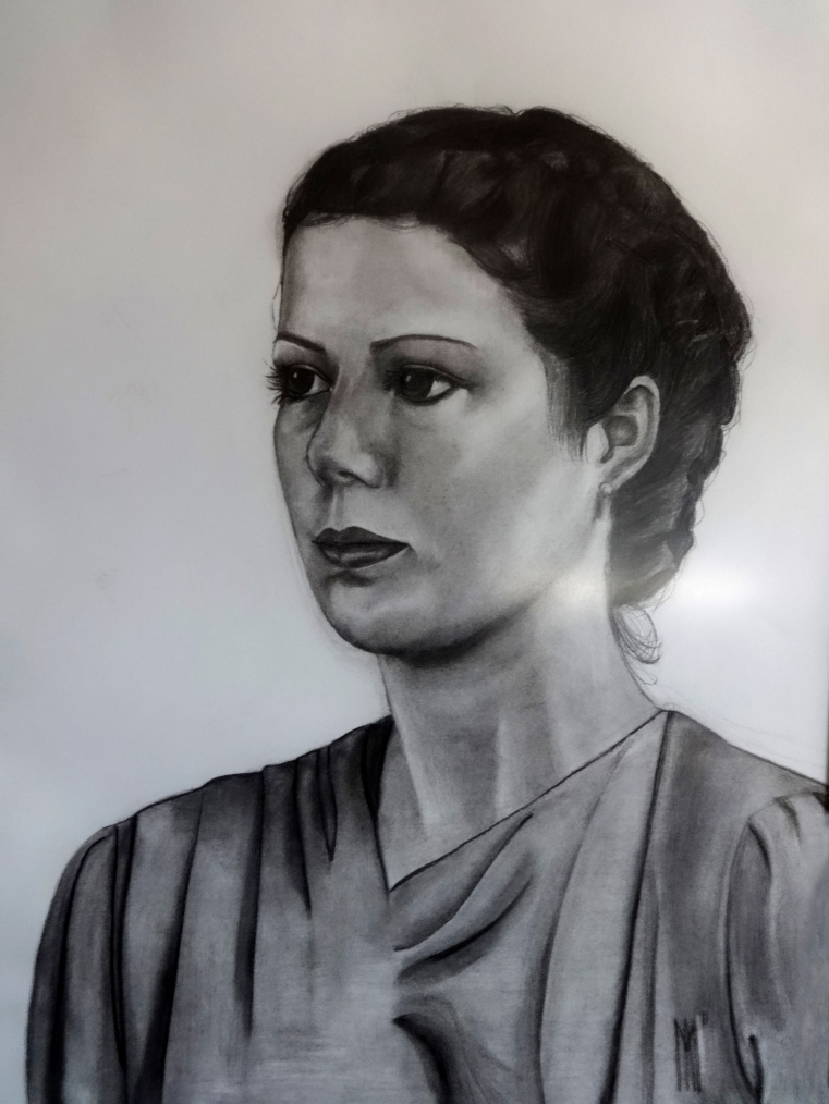 Charcoal Drawing 50cm x70cm